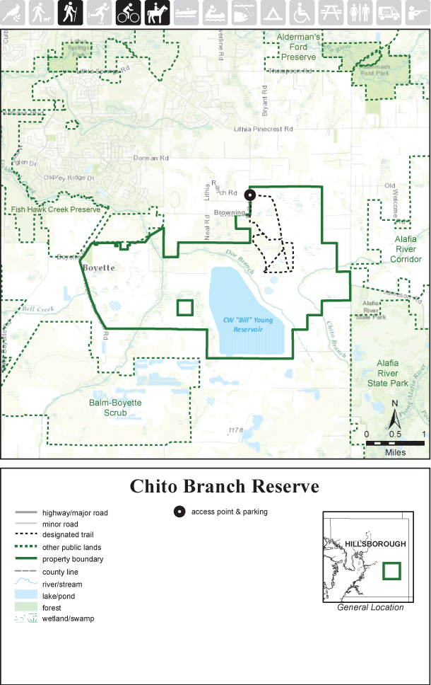 Chito Branch Reserve map thumbnail