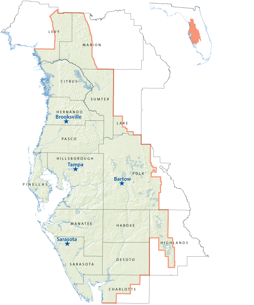 District Maps - Service Offices | WaterMatters.org