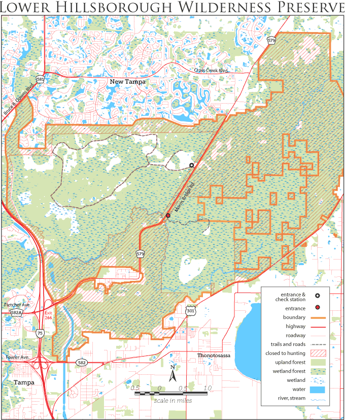 Lower Hillsborough hog hunt map