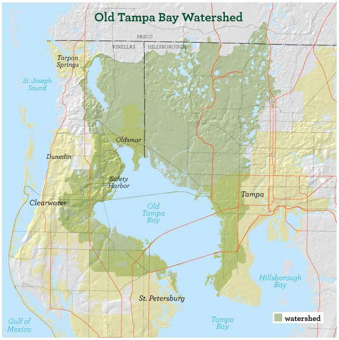 Old Tampa Bay Water Quality & Habitat Assessment   SWFWMD
