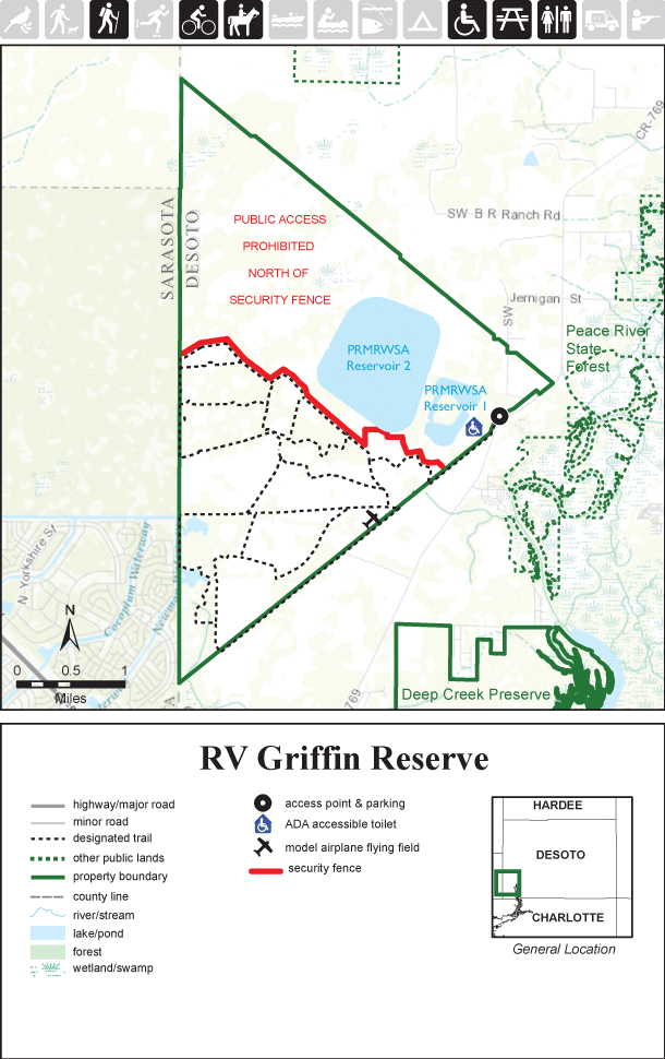 RV Griffin Reserve map thumbnail