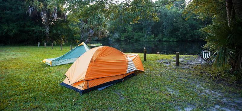 Potts Preserve camping