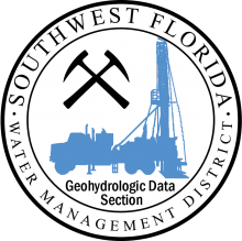 District geohydrologic data section logo