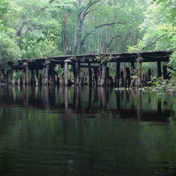 Brown Bridge on the Withlacoochee River