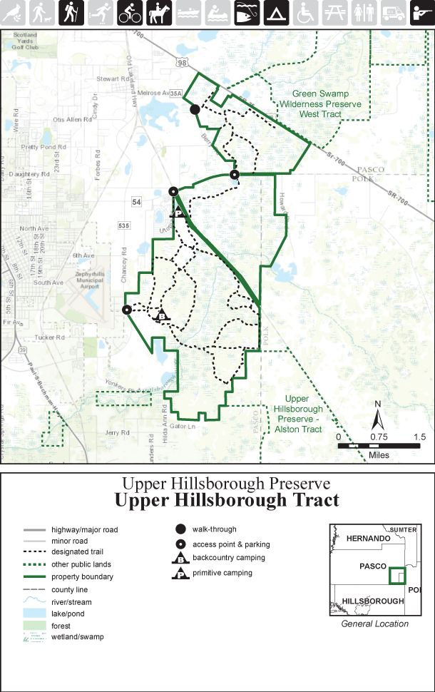 Upper Hillsborough Tract map thumbnail